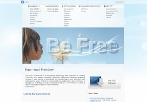 New KDE website