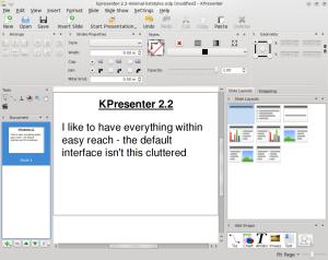 KPresenter 2.2.0